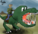 Dino Riders - 30 Minute Drawing